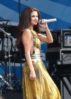Selena Gomez - performing at a radio station concert in Boston -11