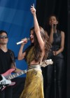 Selena Gomez - performing at a radio station concert in Boston -13
