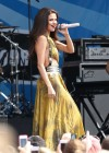 Selena Gomez - performing at a radio station concert in Boston -15
