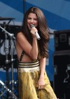 Selena Gomez - performing at a radio station concert in Boston -16