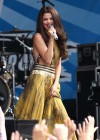 Selena Gomez - performing at a radio station concert in Boston -17