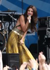 Selena Gomez - performing at a radio station concert in Boston -18