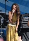 Selena Gomez - performing at a radio station concert in Boston -21
