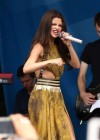 Selena Gomez - performing at a radio station concert in Boston -24