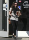 Selena Gomez - out and about at Panera Bread in Encino