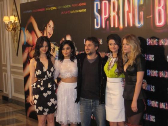 Selena Gomez – Spring Breakers premiere in Madrid -02