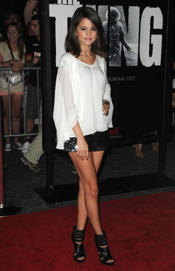 Selena Gomez – Leggy Candids at The Thing Premiere-02
