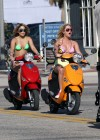 Selena Gomez  Vanessa Hudgens and Ashley Benson in Bikini at Spring Breakers-12