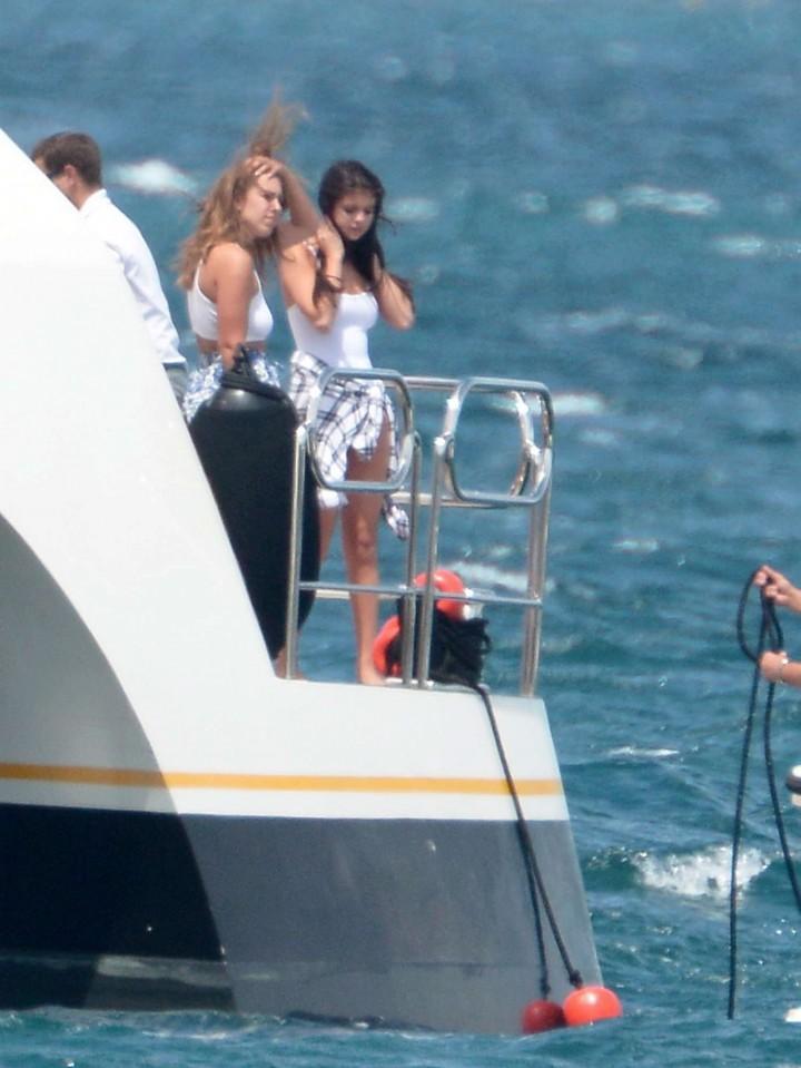 Selena Gomez Swimsuit Photos: St Tropez  2014 -58