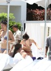 Selena Gomez bikini by the pool in Miami -14