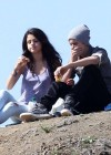 Selena Gomez With Bieber in Griffith Park - Los Angeles-01