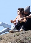 Selena Gomez With Bieber in Griffith Park - Los Angeles-02