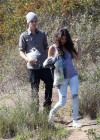 Selena Gomez With Bieber in Griffith Park - Los Angeles-04