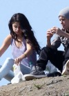 Selena Gomez With Bieber in Griffith Park - Los Angeles-05