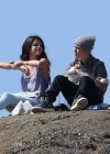 Selena Gomez With Bieber in Griffith Park - Los Angeles-07