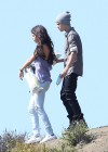 Selena Gomez With Bieber in Griffith Park - Los Angeles-08