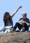 Selena Gomez With Bieber in Griffith Park - Los Angeles-09