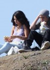 Selena Gomez With Bieber in Griffith Park - Los Angeles-10