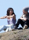 Selena Gomez With Bieber in Griffith Park - Los Angeles-11