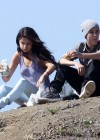 Selena Gomez With Bieber in Griffith Park - Los Angeles-12