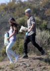 Selena Gomez With Bieber in Griffith Park - Los Angeles-14