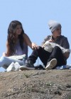 Selena Gomez With Bieber in Griffith Park - Los Angeles-15