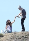 Selena Gomez With Bieber in Griffith Park - Los Angeles-16