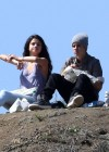Selena Gomez With Bieber in Griffith Park - Los Angeles-17