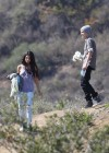Selena Gomez With Bieber in Griffith Park - Los Angeles-18