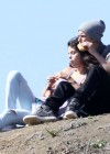 Selena Gomez With Bieber in Griffith Park - Los Angeles-19
