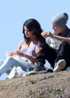 Selena Gomez With Bieber in Griffith Park - Los Angeles-20