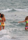 Selena Gomez with Vanessa Hudgens and Ashley Benson In Bikini on Beach-02