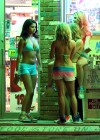 Selena Gomez with Vanessa Hudgens and Ashley Benson In Bikini on Beach-11