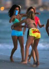 Selena Gomez with Vanessa Hudgens and Ashley Benson In Bikini on Beach-13