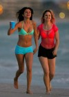 Selena Gomez with Vanessa Hudgens and Ashley Benson In Bikini on Beach-14