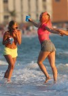 Selena Gomez with Vanessa Hudgens and Ashley Benson In Bikini on Beach-32