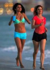 Selena Gomez with Vanessa Hudgens and Ashley Benson In Bikini on Beach-36