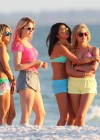 Selena Gomez with Vanessa Hudgens and Ashley Benson In Bikini on Beach-39