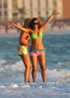 Selena Gomez with Vanessa Hudgens and Ashley Benson In Bikini on Beach-62