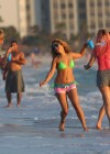 Selena Gomez with Vanessa Hudgens and Ashley Benson In Bikini on Beach-65
