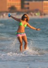 Selena Gomez with Vanessa Hudgens and Ashley Benson In Bikini on Beach-69