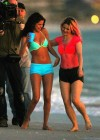 Selena Gomez with Vanessa Hudgens and Ashley Benson In Bikini on Beach-71