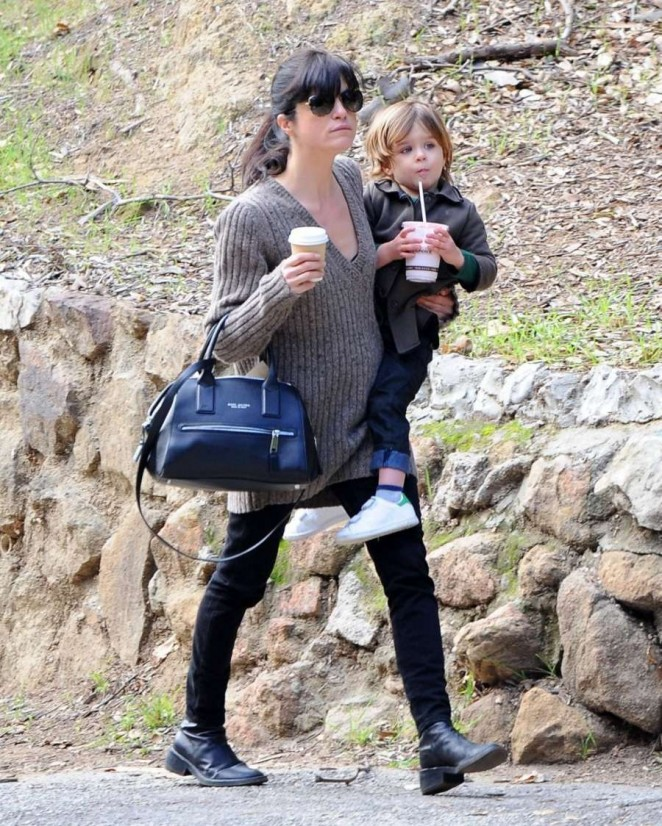 Selma Blair at Griffith Park in LA