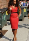 Serena Williams in red dress-08