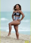 Serena Williams in Bikini Photoshoot on Miami Beach -07