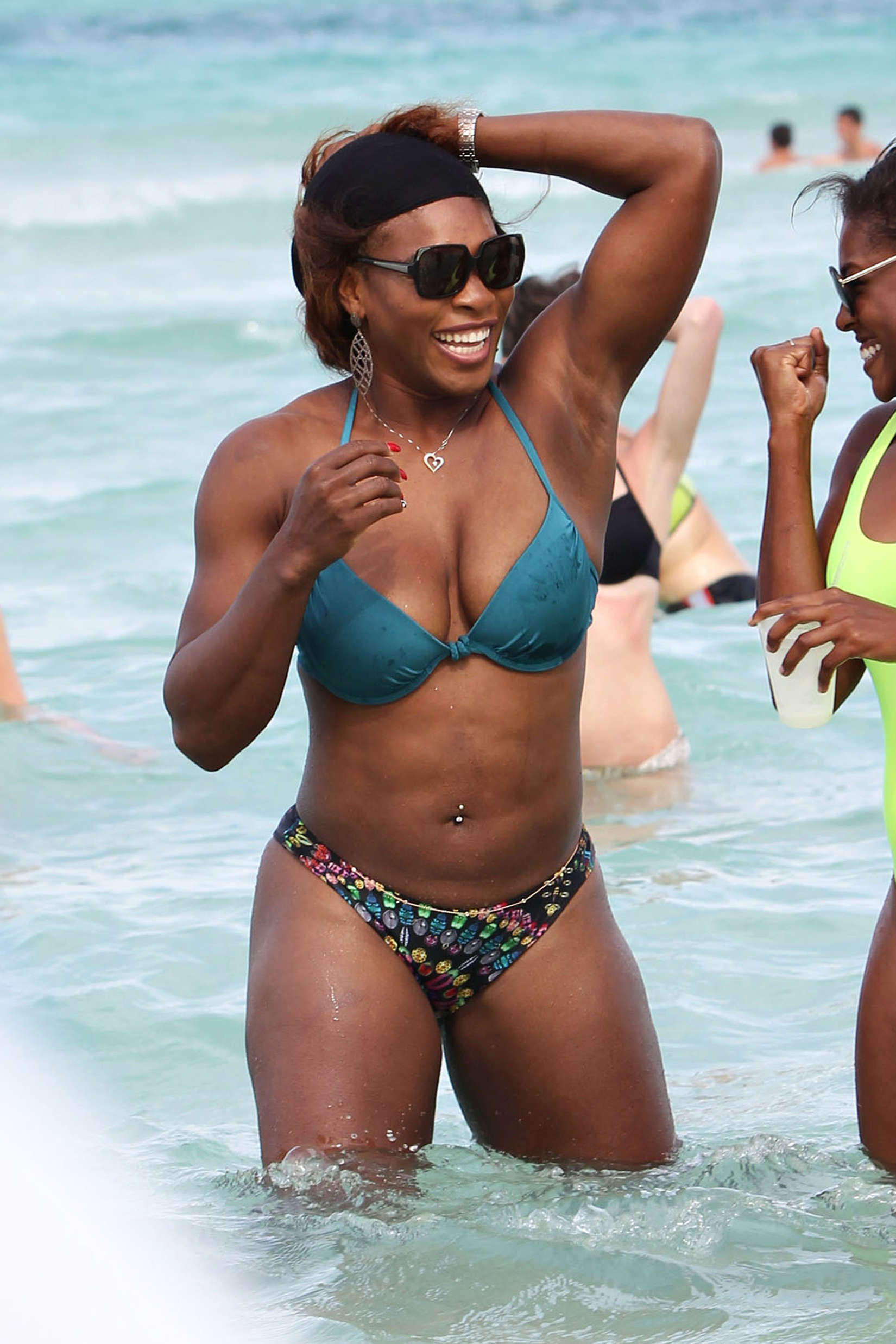 Accept. Serena williams bikini
