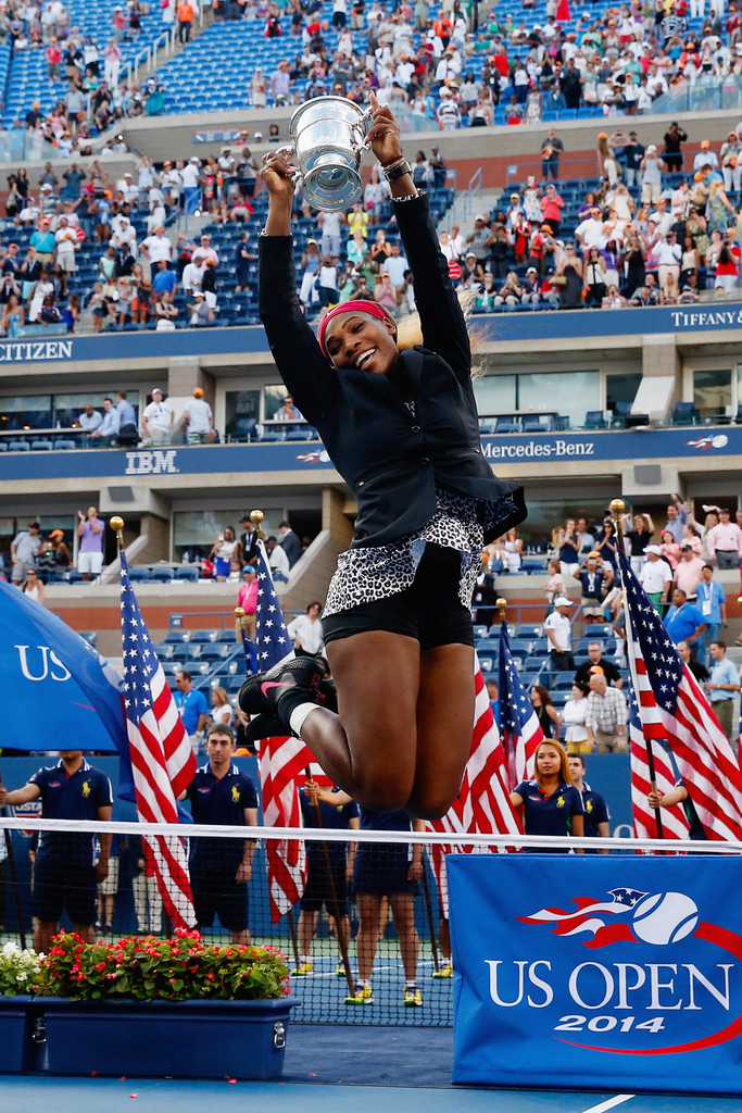 Serena Williams - US Open 2014 Final Match in NYC