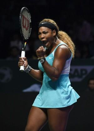 Serena Williams - WTA Finals 2014 in Singapore