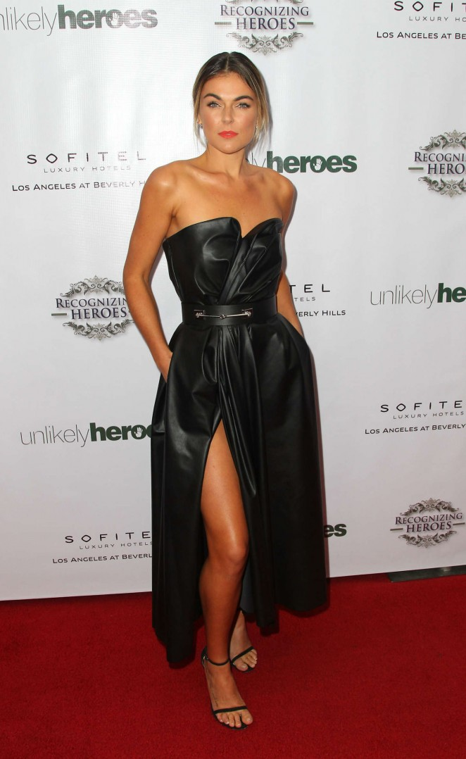 Serinda Swan at 3rd Annual Unlikely Heroes Awards Dinner and Gala in Los Angeles