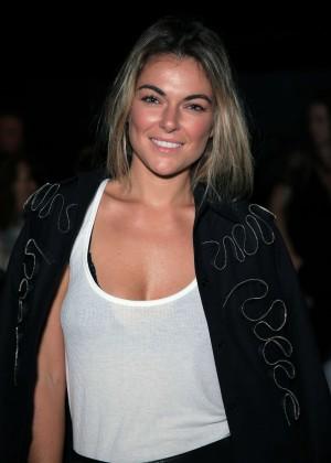 Serinda Swan - Francesca Liberatore Fashion Show in NY